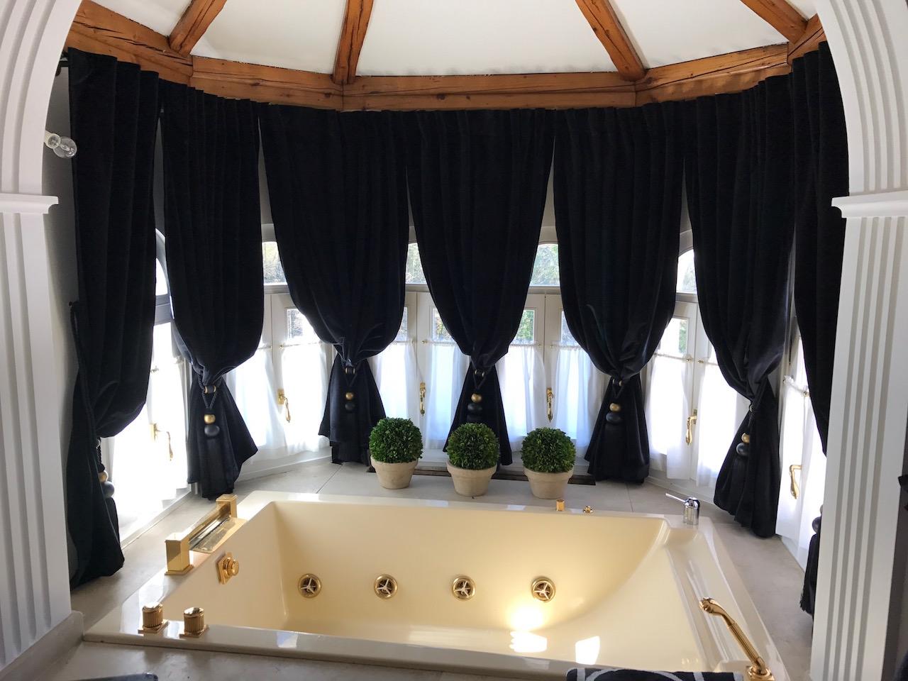 Art Maison tende vasca velluto